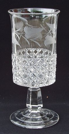 Silver Quill Antiques and Gifts - Antique Pressed or Pattern Glass