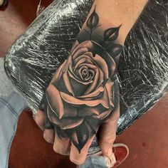 Dope Tattoos For Women, Rose Tattoos For Men, Hand Tattoos For Guys, Cute Tattoos, Body Art Tattoos, Sleeve Tattoos, Rib Tattoos, Ankle Tattoos, Arrow Tattoos
