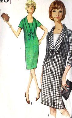 1960s Misses' One-Piece Dress