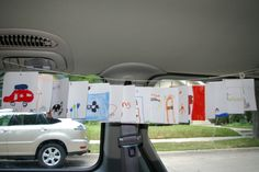 Travel timeline--keep the kids busy in the car!