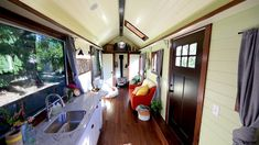 Victorian Inspired Tiny Home by Tiny Heirloom