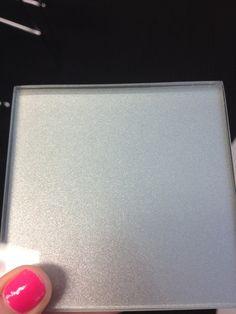 glass splashback silver metallic