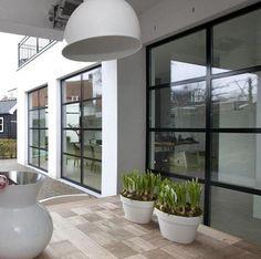 Uitbouw, mooie raamverdeling