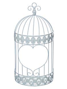 E atât de simplu: îl atârni pe perete, aşezi în el ghiveciul cu flori sau obiectul preferat şi ai o decoraţiune de toată splendoarea. Suportul de perete în formă de colivie este conceput din metal vopsit alb şi are înălţimea totală de 47 cm. Forma de colivie adaptată pentru perete îi conferă o imagine deosebită şi cu siguranţă va atrage toate privirile fie că se regăseşte în cadrul unui eveniment fie că este folosit în decorarea căminului propriu.