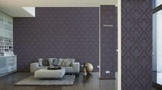 Architects Paper Tapete 266736; simuliert auf der Wand