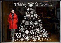 christmas window stickers buscar con google - Christmas Window Stickers