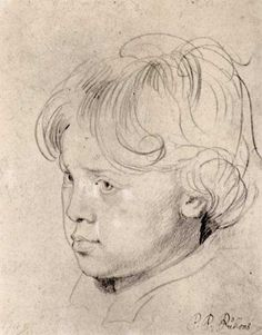 RUBENS Pieter Paul (Flemish 1577-1640) - portrait of his son Frans ?
