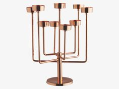 KLEIN METALLICS Metal Copper tea light candelabra - HabitatUK £40.00