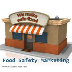 How do you market food safety?