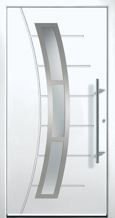 Contemporary and modern entry doors by Groke. A superior alternative to fiberglass, steel or wood doors. Modern Entry Door, Modern Exterior Doors, Entry Doors, Entrance, Entryway, Home Door Design, Home Stairs Design, Door Design Interior, Modern Windows And Doors