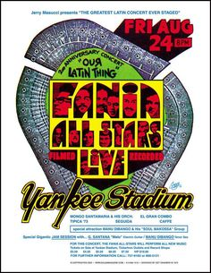Fania All Stars at Yankee Stadium 1976