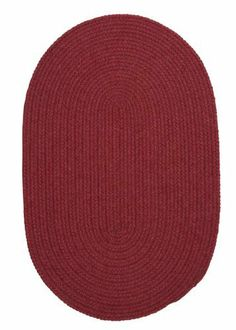 Colonial Mills Bristol WL02 Cedar Red 7' x 9' Oval by Colonial Mills. $429.00. Sometimes simple is best. In this wool blend oval rug, yarns in warm, inviting colors create a simple accent and sense of home.