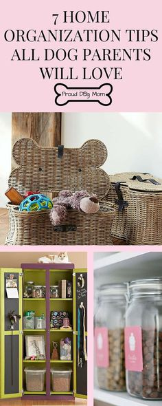7 Home Organization Tips All Dog Parents Will Love Organization Hacks Dog Organizing Hacks, Home Organization Hacks, Do It Yourself Garten, Dog Rooms, Dog Care Tips, Pet Care, Dog Hacks, Dog Training Tips, Diy Stuffed Animals