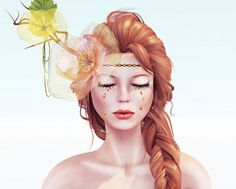 "Check out the Second Life Pic of the Day, ""Golden Tears"" by Alana Roses."