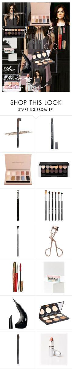 """Aria Montgomery Makeup Tutorial"" by oroartye-1 on Polyvore featuring beauty, NYX, Christian Dior, Stila, ZOEVA, Sigma, L'Oréal Paris, House of Lashes, Nanacoco and Surratt"