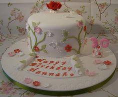 30th Birthday Cake | Flickr - Photo Sharing! cupcak, cake idea, birthdays, bithday cake, wilton cake, parti decoridea, amanda 30th, 30th birthday, birthday cakes