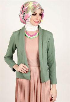 Blazer Wanita Muslimah Modern : blazer, wanita, muslimah, modern, BLAZER