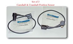 (set of 2) 12141731886 /12141731886 CAMSHAFT & CRANKSHAFT POSITION SENSOR WITH ELECTRICAL CONNECTOR FITS:BMW 318I 1993-1994 318IS 1993-1994 530I 1994-1995 540I 1994-1995 740I 1993-1995 740IL 1993-1995 -- Awesome products selected by Anna Churchill