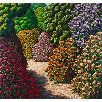 karl maughan makerua oil on linen, stretcher: 1529 x 1678 x 34 mm Beautiful Flowers Garden, Beautiful Gardens, Nz Art, Creative Background, First Home, Kiwi, Outdoor Spaces, Environment, Interiors