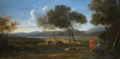The Athenaeum - Classical Landscape (Claude Lorrain - )