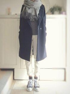 Folk Fashion, Street Fashion, Winter Fashion, Womens Fashion, Nice Clothes For Men, Mode Simple, Minimal Outfit, Fashion Project, Mode Hijab