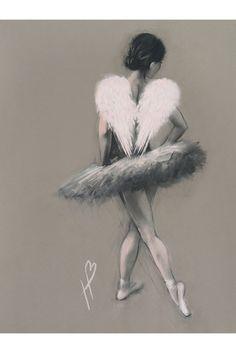 Angel Wings III Canvas