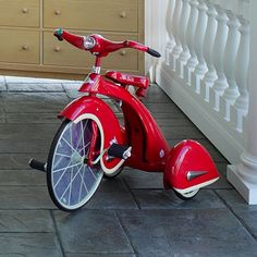 Sky King Tricycle in Red from PoshTots