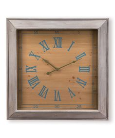 Take a look at this Amherst Wall Clock by Foreside on #zulily today!