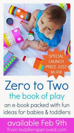 Announcing Zero to Two:: The Book Of Play - Toddler Approved!
