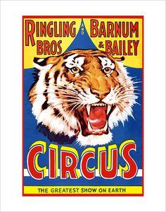 Circus Poster - Ring