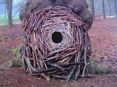 what a beautifull creation by Andy Goldsworthy