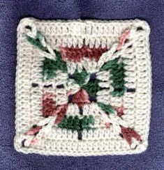"""Chain Link 6"""" Square Free Crochet Pattern"""
