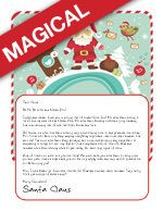 Free Letter from Santa or Magical Package...your choice! Pick what fits your budget!