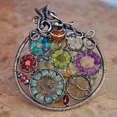 Wire Wrap Pendant by wanting