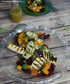 Salad of beet and pumpkin
