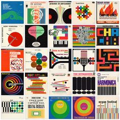 """The seemingly infinite number of vintage album covers that convey their message with only simple shapes and typography never cease to amaze me. Project Thirty-Three is my shrine to circles and dots, squares and rectangles, and triangles, and the designers that made them come to life. This site was created and is maintained by the owner of Jive Time Records, a Seattle-based store specializing in used vinyl."""