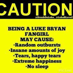 Luke Bryan fan