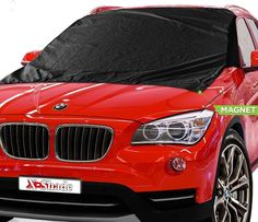 Car Windshield Snow Cover 50x62 Inches - Snow Windshield Cover - Waterproof Windshield Snow Cover Magnetic - Winter Windshield Covers Cars - Snow Covers - Windshield Cover Snow Ice - Free Non-Slip Mat  http://www.amazon.com/dp/B00VG7Q75I