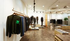 T.I FOR MEN showroom by khanproject, Seoul showroom store design
