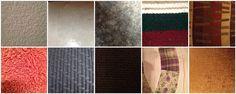 #3 texture #M1fs4233 1)restroom wall 2) kitchen tile 3)counter top tile 4)blanket 5)pillow 6) towel 7)car seats 8)carpet 9)comforter 10) couch