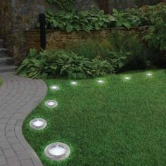 When designing your backyard, don't forget to carefully plan your lighting as well. Get great ideas for your backyard oasis here with our landscape lighting design ideas. Side Yard Landscaping, Landscaping With Rocks, Landscaping Ideas, Backyard Ideas, Sloped Backyard, Backyard Designs, Large Backyard, Modern Landscaping, Backyard Lighting