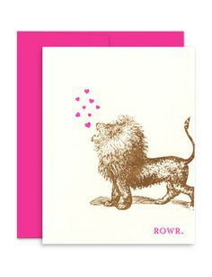 Alphie stationery! How adorable is this card?