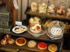 miniature*パン屋さん完成の画像:natural色の生活~handmade家具