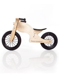 Bungalow Kids - Balance Bike Chop, Natural Wood