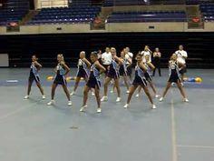 UCA Cheer dance. Look at the basket toss!!