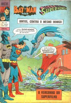 Dez capas nacionais que Batman e Superman gostariam de esquecer - UNIVERSO HQ