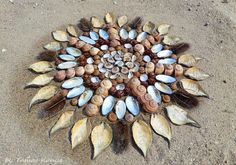 Land art mandala from Hungary by tamas kanya