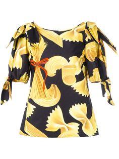 LOL Love It! » Dolce & Gabbana Pasta Print Top » farfetch.com