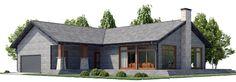 house design house-plan-ch448 1