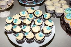 Relief Society cupcakes